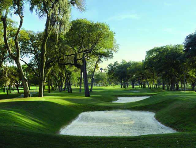 Brackenridge Park Golf Course In San Antonio