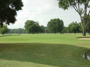 A view from Max Starcke Park Golf Course